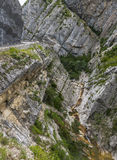 Clue de Taulanne, canyon in France Stock Images