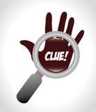 Clue design Royalty Free Stock Photos