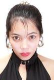 Clueless dazed girl portrait Stock Photo