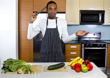 Clueless on How To Cook Stock Photography