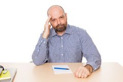 Clueless man Stock Photos