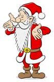 Clueless santa claus cartoon Stock Photo