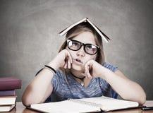 Clueless student Stock Photo