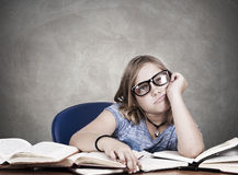 Clueless student Stock Photography