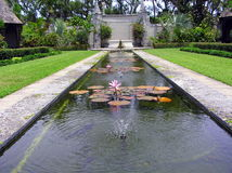 Cluett Memorial Gardens at Bethesda by the Sea, Palm Beach Stock Images