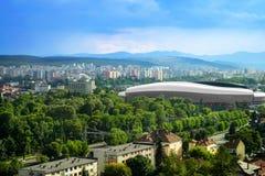 Cluj arena Arkivfoto