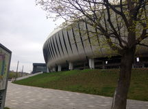 Cluj arena Arkivfoton