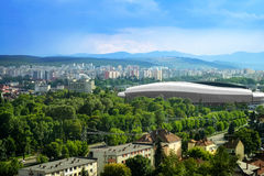 Cluj Arena Stock Photo