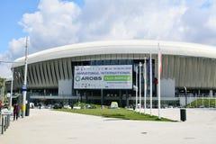 Cluj Arena Stadium exterior detail Royalty Free Stock Image