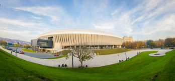 Cluj arenastadion Royaltyfria Bilder
