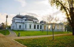 Cluj centraal parkcasino royalty-vrije stock foto's