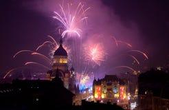 Cluj che entra in 2013 Immagini Stock Libere da Diritti