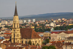 Cluj city in Romania Royalty Free Stock Photography
