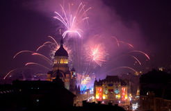 Cluj Entering 2013 Royalty Free Stock Images