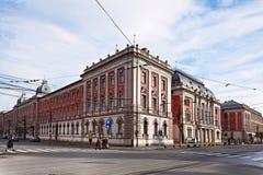 Cluj het napoca-Paleis van Rechtvaardigheid Royalty-vrije Stock Afbeelding