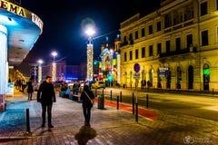 Cluj-Kolozsvà ¡ r-Klausenburg Royaltyfri Fotografi