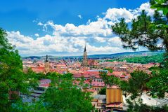 Cluj-Napoca arkivfoton
