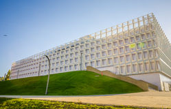 Cluj Napoca Brand Sports Hall In Central Park In Transylvania Re Stock Photo