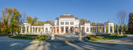 Cluj Napoca Central Park Casino Stock Image