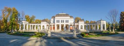 Cluj Napoca Central Parkcasino Stock Afbeelding