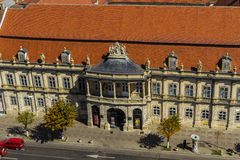 Cluj-Napoca city. Art museum in Cluj-Napoca city, Romania Royalty Free Stock Photos