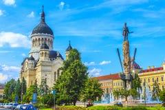Cluj-Napoca city. Beautiful historical building in Cluj-Napoca city, Romania Royalty Free Stock Photography