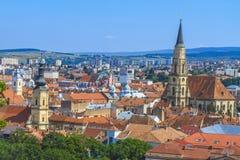 Cluj-Napoca city Royalty Free Stock Photos