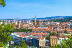 Cluj-Napoca city. Beautiful historical building in Cluj-Napoca city, Romania Royalty Free Stock Images