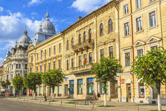 Cluj-Napoca city. Beautiful historical building in Cluj-Napoca city, Romania Royalty Free Stock Photo