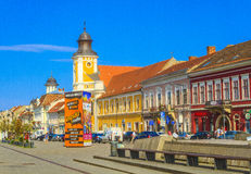 Cluj-Napoca city Royalty Free Stock Photo