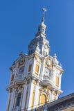 Cluj-Napoca city. Hall tower, Romania Stock Photos