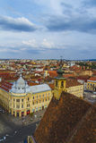 Cluj-Napoca city. Overview of Cluj-Napoca city, Romania Royalty Free Stock Images