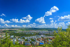 Cluj-Napoca city. Overview of Cluj-Napoca city, Romania Stock Photography
