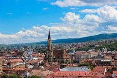 Cluj Napoca Cityscape Royalty Free Stock Photos