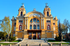 Cluj-Napoca National Theatre Stock Image