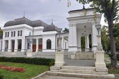 Cluj-Napoca RO, 24 September: De Bouw van het Central Parkcasino in cluj-Napoca van het gebied van Transsylvanië in Roemenië Royalty-vrije Stock Foto's