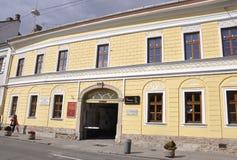 Cluj-Napoca RO, 24 September: Historische de Bouwdetails in cluj-Napoca van het gebied van Transsylvanië in Roemenië Royalty-vrije Stock Fotografie