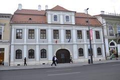 Cluj-Napoca RO, 24 September: Nemeshuis in cluj-Napoca van het gebied van Transsylvanië in Roemenië Stock Afbeeldingen