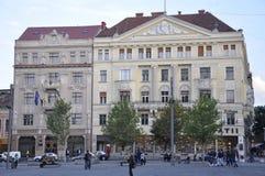 Cluj-Napoca RO, 24 September: Sebestyenhuis in cluj-Napoca van het gebied van Transsylvanië in Roemenië Stock Afbeelding