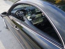 Cluj Napoca/Roemenië - Octomber 04, 2016: Mercedes Benz W209 - ye Royalty-vrije Stock Foto