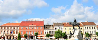 Cluj Napoca, Roumanie photographie stock