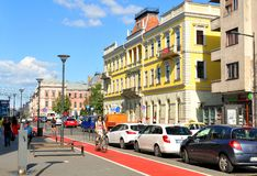 Cluj Napoca, Roumanie Image libre de droits