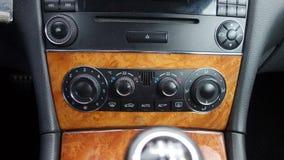 Cluj Napoca/Rumänien - September 19, 2016: Mercedes Benz W209- år 2005, elegansutrustning, svart metallisk målarfärg, fotoperiod  Royaltyfri Foto