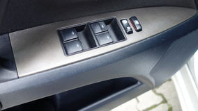 Cluj Napoca, Rumunia, Maj/- 09, 2017: Toyota Avensis- rok 2010, Pełny opci wyposażenie, fotografii sesja, elektryczni okno dowodz Zdjęcia Stock