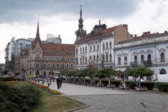 Cluj Napoca, square Royalty Free Stock Photos