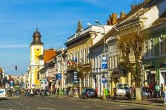 Cluj-Napoca stad Arkivbild