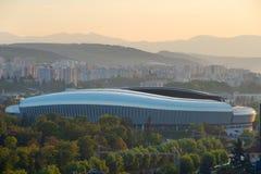 Cluj-Napoca stadion, Rumänien Arkivbild