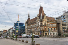 Cluj-Napoca. The theater in the center of Cluj-Napoca city Royalty Free Stock Photo