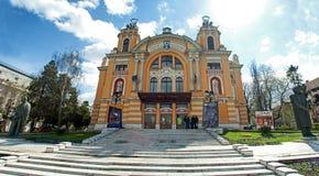 Cluj Napoca theatre Stock Images