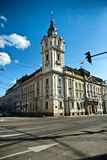 Cluj Napoca town hall. View of Cluj Napoca town hall Stock Photography